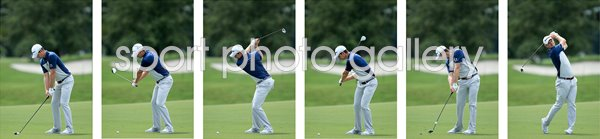 2015 Justin Rose Six Stage Swing Sequence