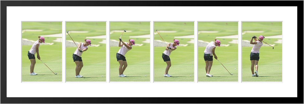 Lydia Ko 6 Stage Swing Sequence 2015