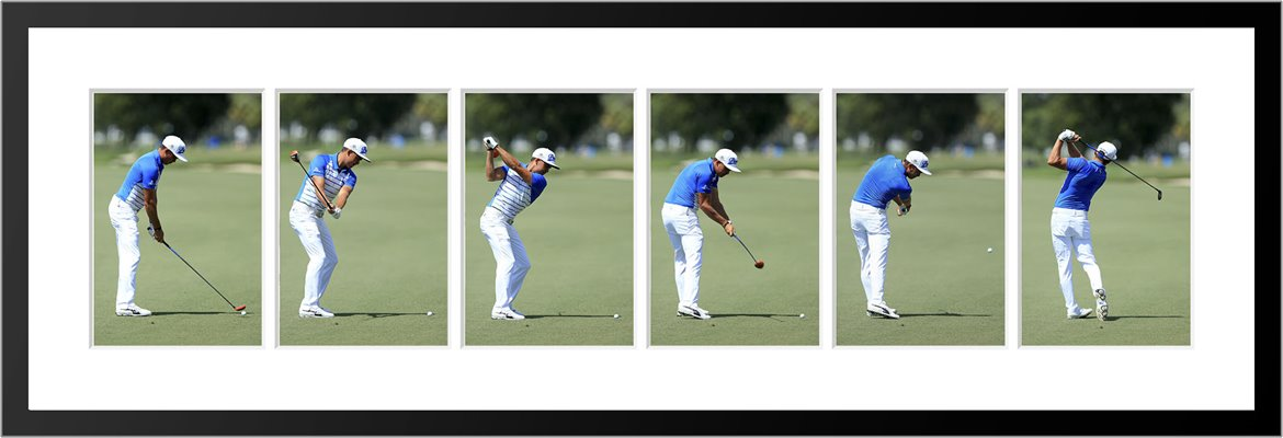 Rickie Fowler 6 Stage Swing Sequence 2015