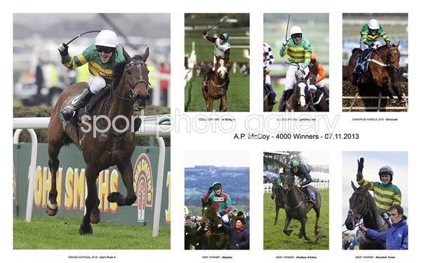 A.P McCoy 4000 Winners Career Special