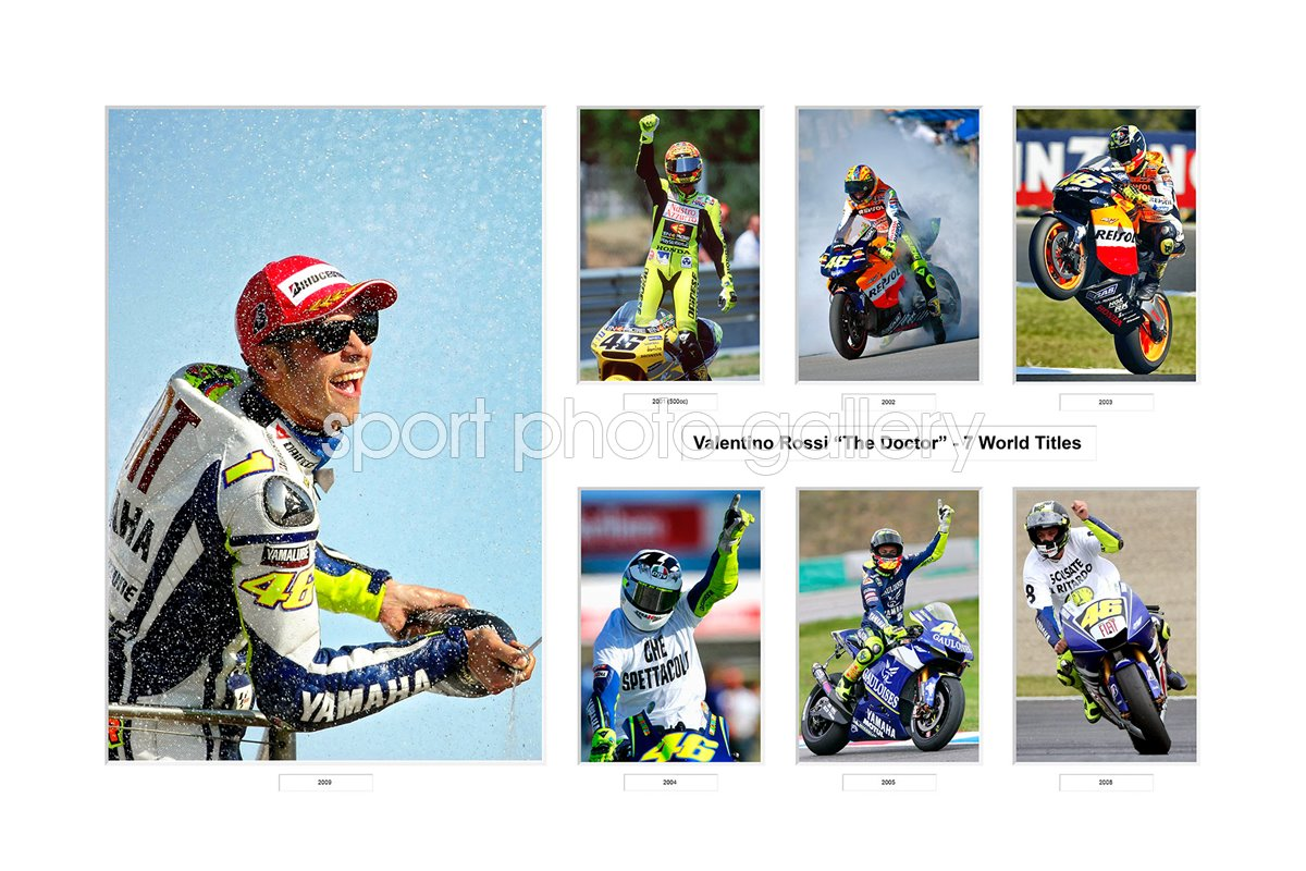 7 WORLD TITLES VALENTINO ROSSI CAREER SPECIAL