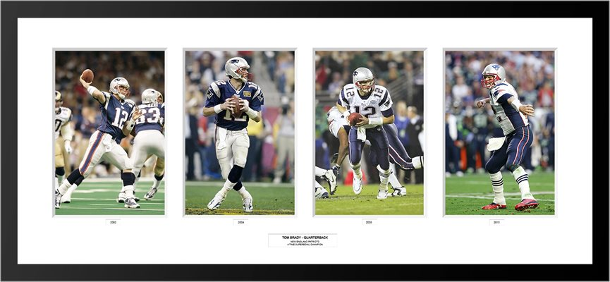 4 Superbowls Tom Brady New England Patriots Special