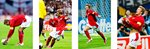 2002 David Beckham Penalty v Argentina Quadruple Prints