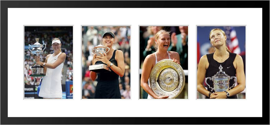 Maria Sharapova Career Grand Slam