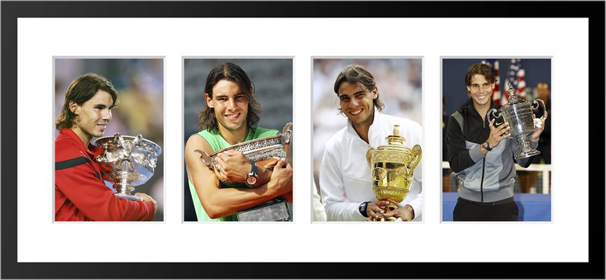 """Rafael Nadal Career Grand Slam"""