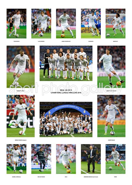 Real Madrid Champions League 2016  Team Special