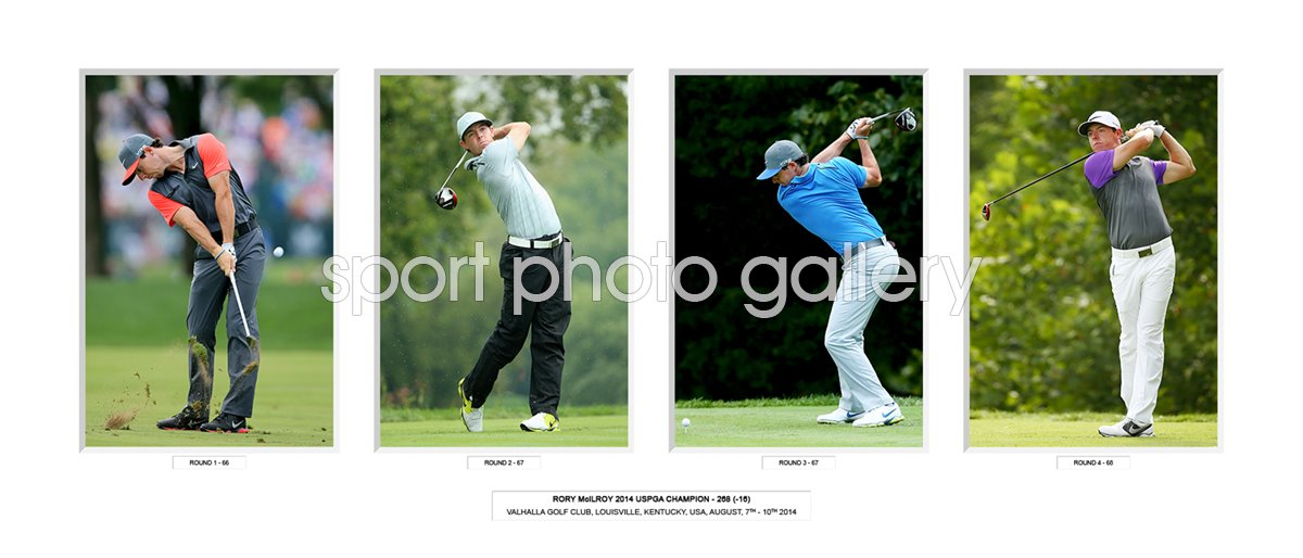 2014 Rory McIlroy USPGA Champion Special