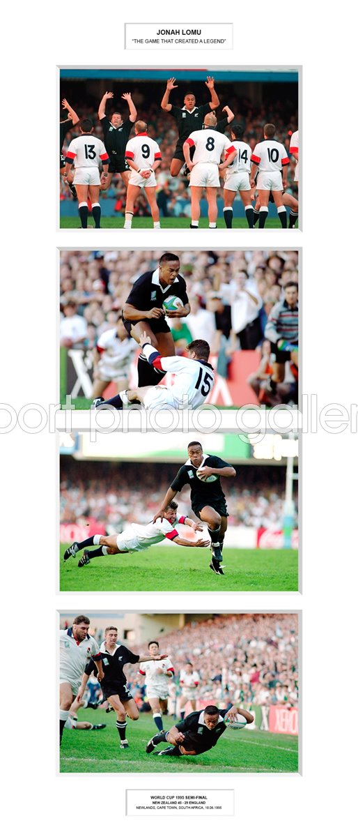 1995 Jonah Lomu The Game that Created a Legend