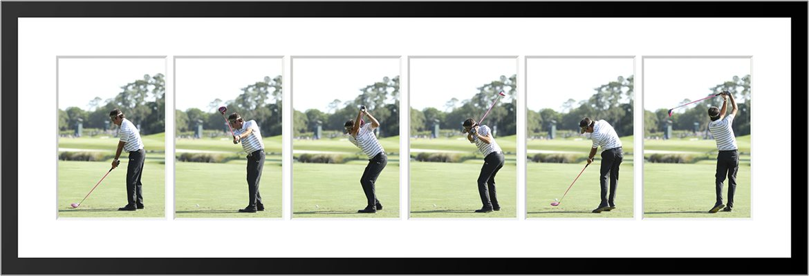 Bubba Watson 6 Stage Swing Sequence