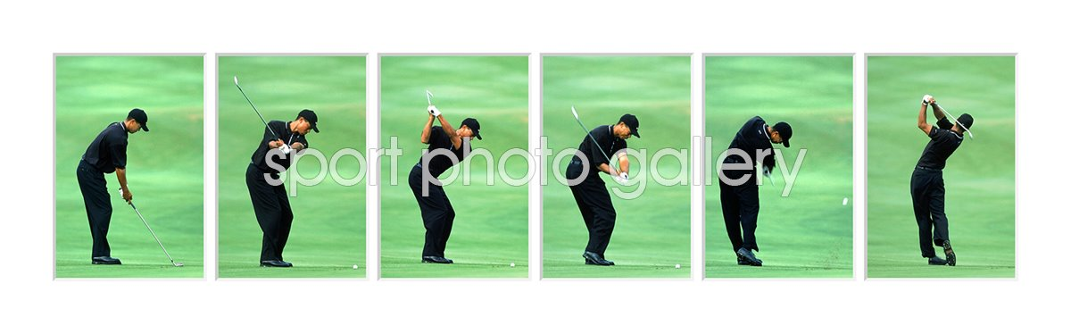2000 Tiger Woods Swing Sequence