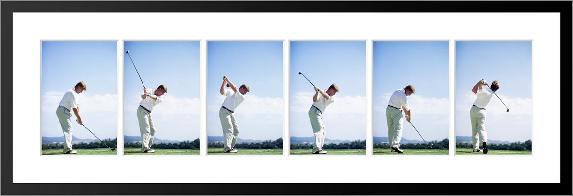 Ernie Els 6 Stage Swing Sequence