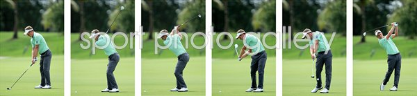 Luke Donald 6 Stage Swing Sequence
