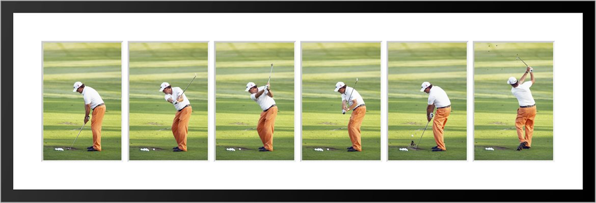 Phil Mickelson 6 Stage Swing Sequence