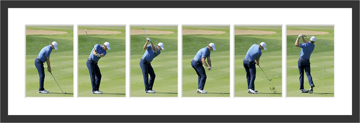 Jordan Spieth Six Stage Swing Sequence Standard View