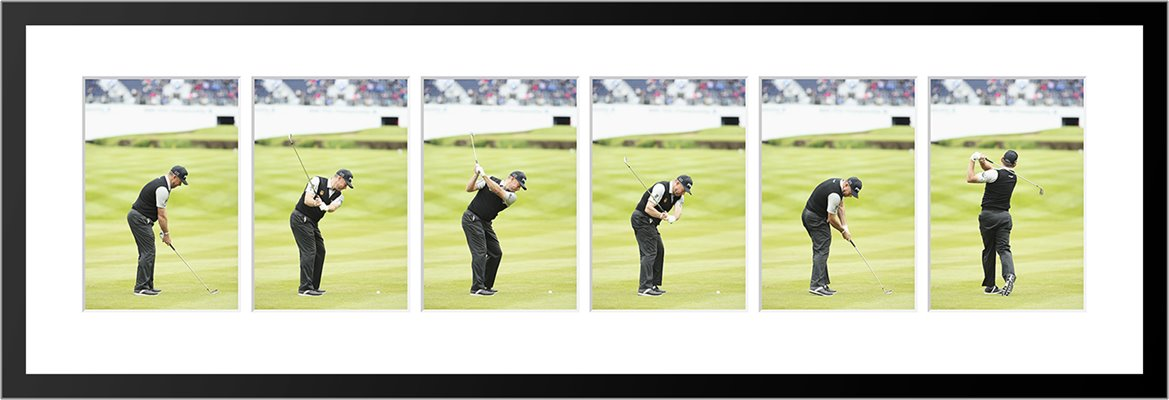 Lee Westwood 6 Stage Swing Sequence 2016