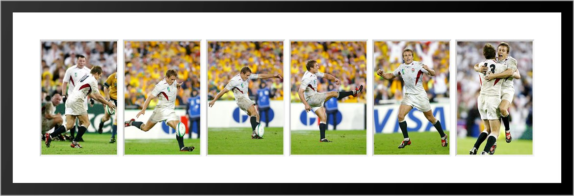 Jonny Wilkinson 2003 Drop Goal 6 Sequence