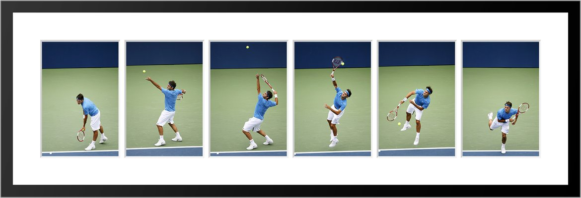 6 Stage Roger Federer Serve Sequence