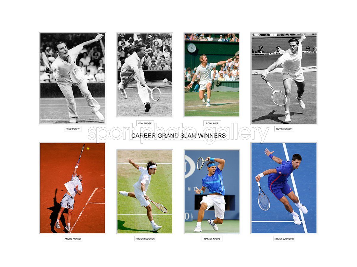 Tennis Career Grand Slam Winners