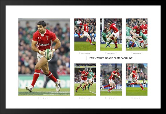2012 WALES GRAND SLAM BACK LINE SPECIAL