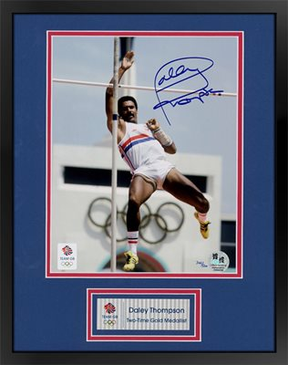 Daley Thompson Signed Official Olympic Print WAS £149.95 NOW £124.95