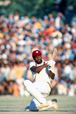 Viv Richards of the West Indies in action