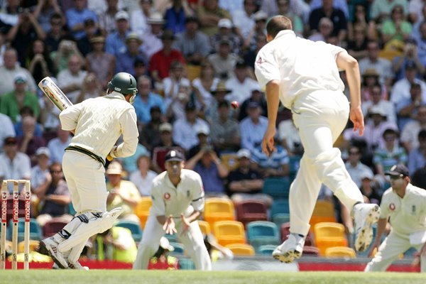 Ashes 2006 - Steve Harmison Opening Delivery