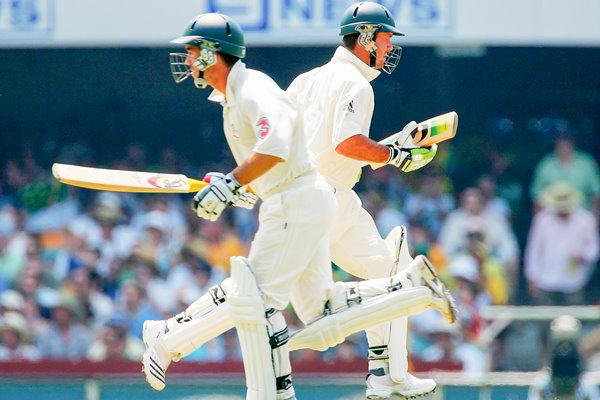 Justin Langer and Ricky Ponting - Ashes 2006