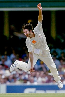 Jason Gillespie in action
