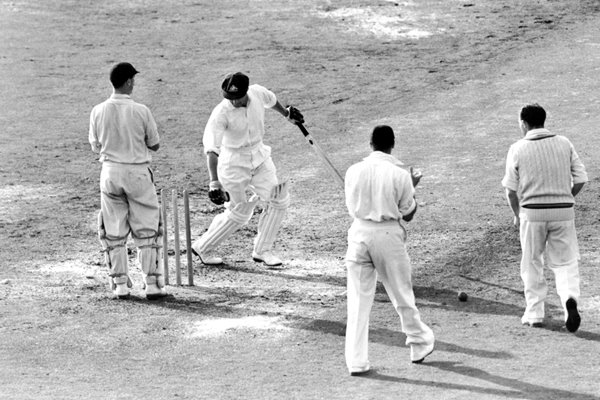 Bowled For A Duck Bradman Oval 1948