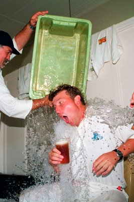 Mike Atherton soaked
