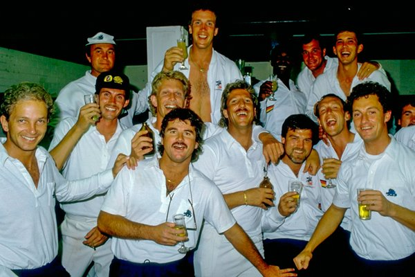 The England team 1986