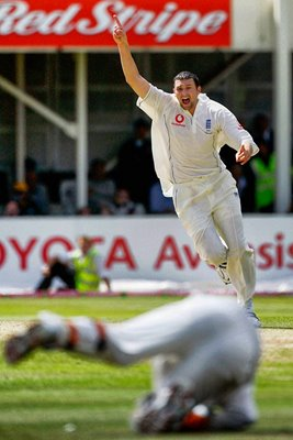 Geraint Jones and Steve Harmison