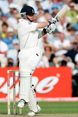 Ian Bell of England in action