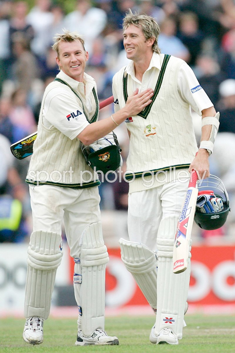 Lee and McGrath celebrate draw