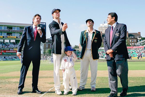 Michael Vaughan wins vital Oval toss