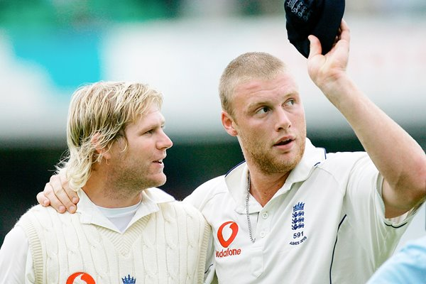 Matthew Hoggard and Andrew Fliintoff