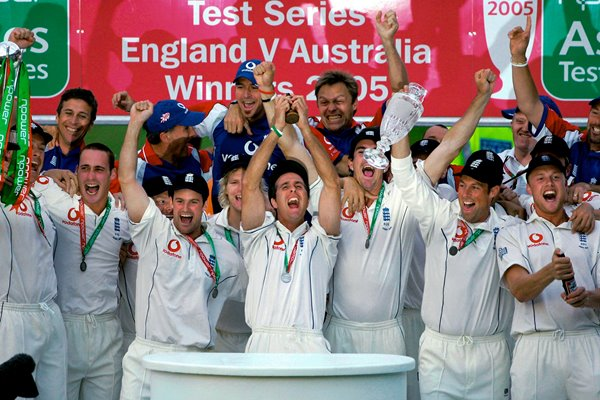 England 2005 Ashes Winners
