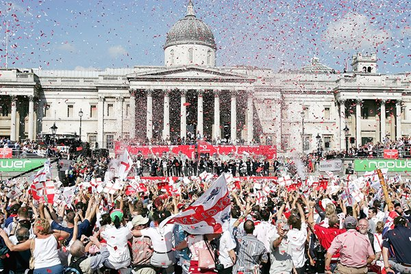 Trafalgar Square Ashes Celebrations