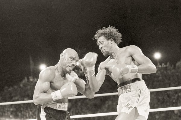 Marvin Hagler v Thomas Hearns Las Vegas 1985
