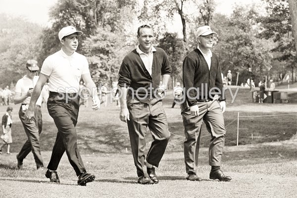 Gary Player, Arnold Palmer and Jack Nicklaus Firestone 1962