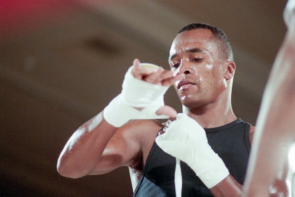 Sugar Ray Leonard Training Las Vegas 1989
