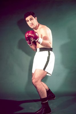 Rocky Marciano American Boxer 1951