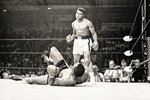 Cassius Clay knocks out Sonny Liston Lewiston 1965 Prints
