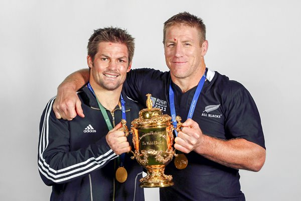 Richie MCaw and Brad Thorn World Champions
