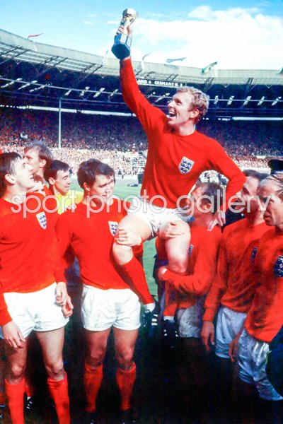 World Cup 1966 Print Football Posters Bobby Moore