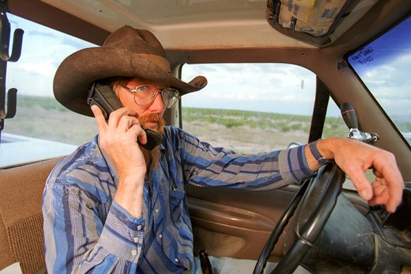 Texas Cowboys and Their Cell Phones