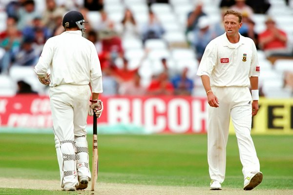 Mike Atherton and Allan Donald