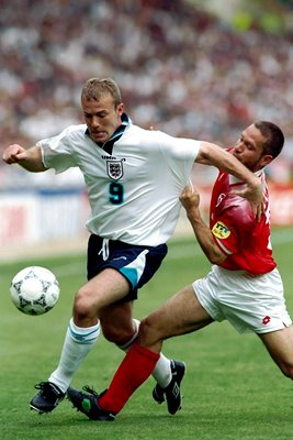 Alan Shearer v Switzerland