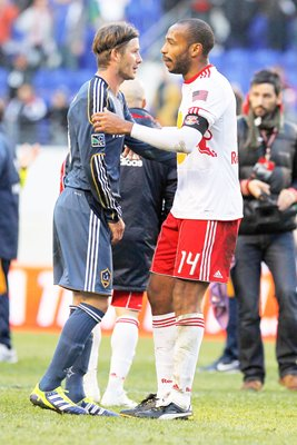 David Beckham & Thierry Henry USA 2011