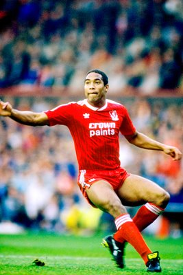 John Barnes Liverpool action